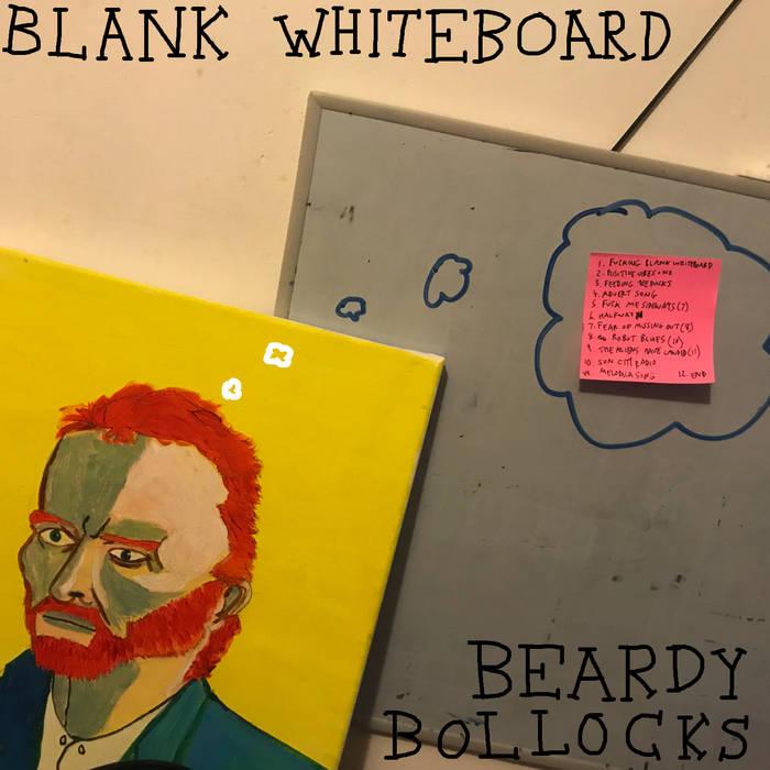 Blank Whiteboard – Beardy Bollocks