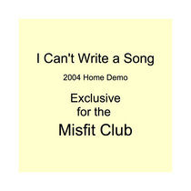 I Can't Write a Song cover art