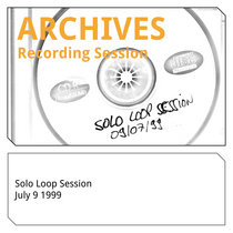 Solo Loop Session 09 07 1999 cover art