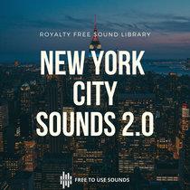 New York City Sounds! JFK, Broadway, Timesquare & Subway Trains cover art
