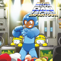 Mega Ran Japan Tour LP cover art