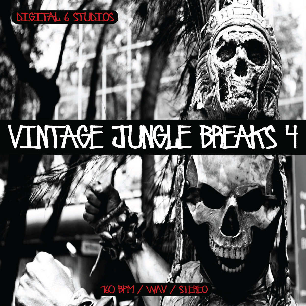 Vintage Jungle Breaks 4 | 6Blocc