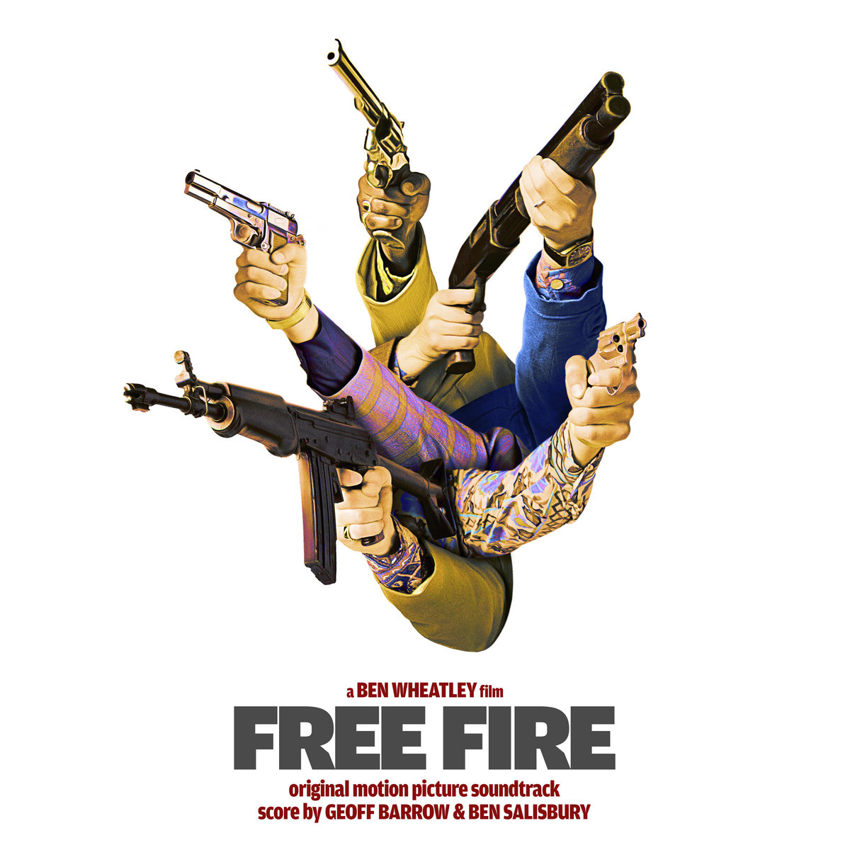 Free Fire Original Motion Picture Soundtrack Invada