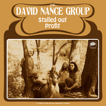 David Nance Group - Stalled Out / Profit single cover art