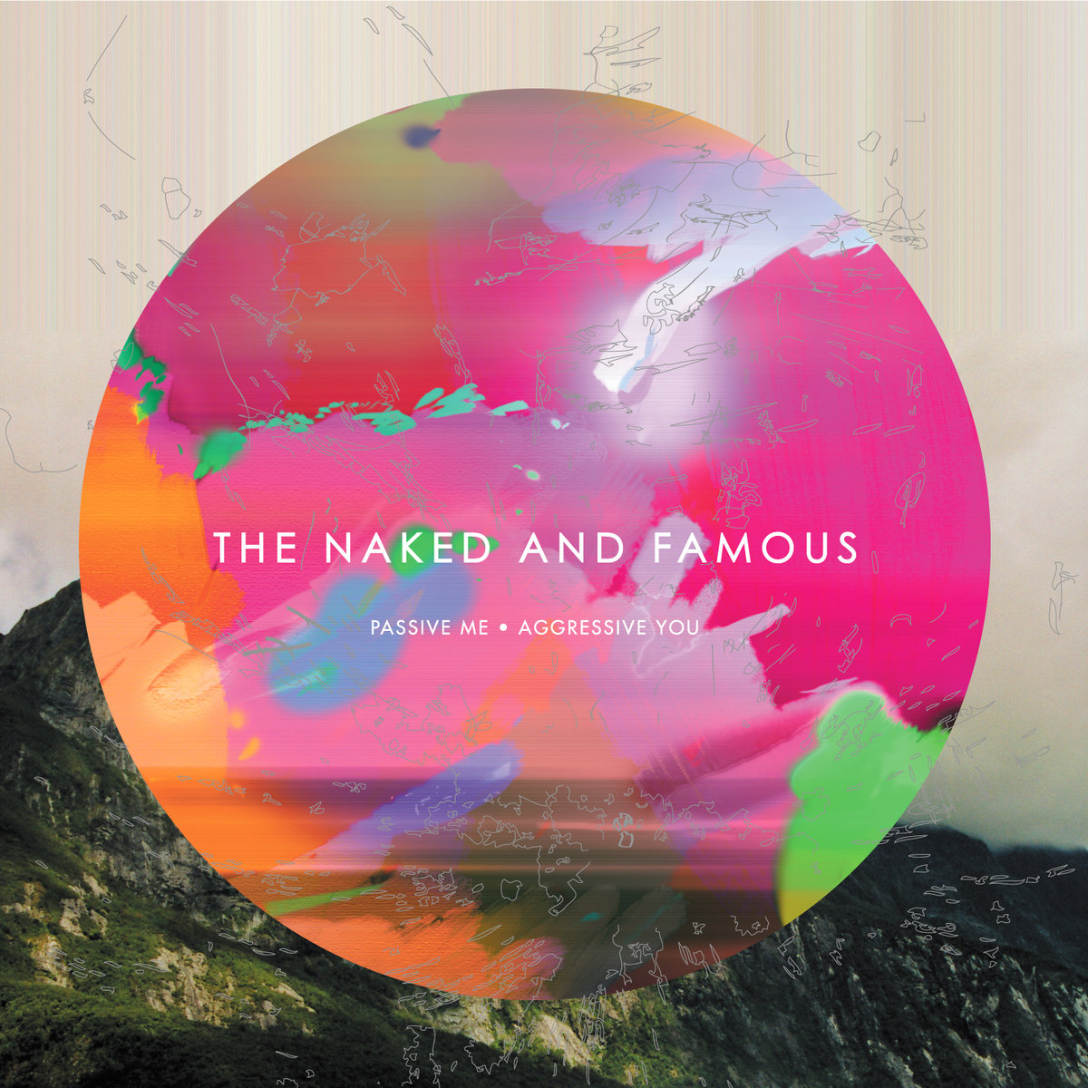 Image result for The Naked and Famous - Passive Me, Aggressive You