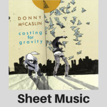 Donny McCaslin | Casting for Gravity | Sheet Music (PDF) cover art