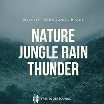 Rain Sounds & Thunder Sounds Indonesia   Rainforest Bali cover art