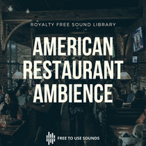 Restaurant Sounds Walla & Busy Crowd USA cover art