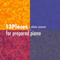 13 pieces for prepared piano(lp) (modern classical) cover art