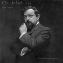 Claude Debussy, piano pieces cover art