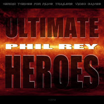 Ultimate Heroes cover art