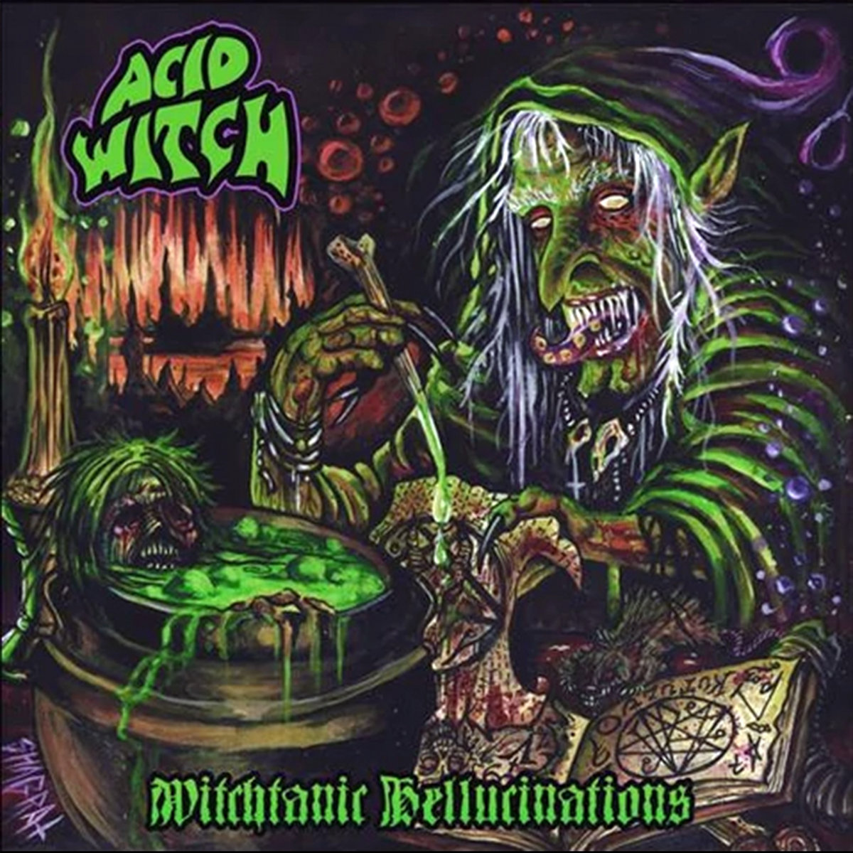 Witchtanic Hellucinations | Acid Witch