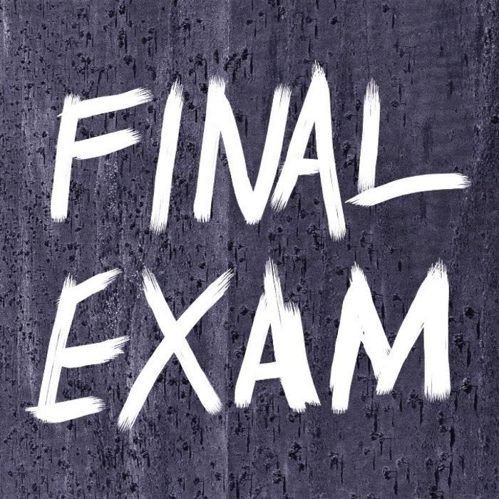 final exam terms