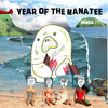 Year of the Manatee Cover Art