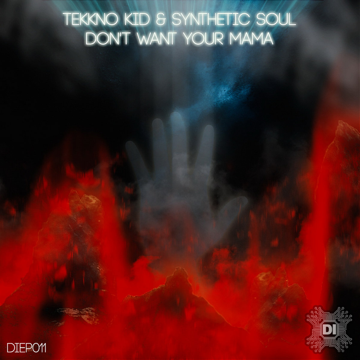 Image of: By Tekkno Kid Synthetic Soul Darkstep Implantant Bandcamp Dont Want Your Mama Ep Darkstep Implantant