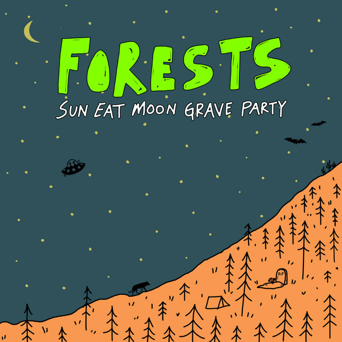 Sun Eat Moon Grave Party cover art