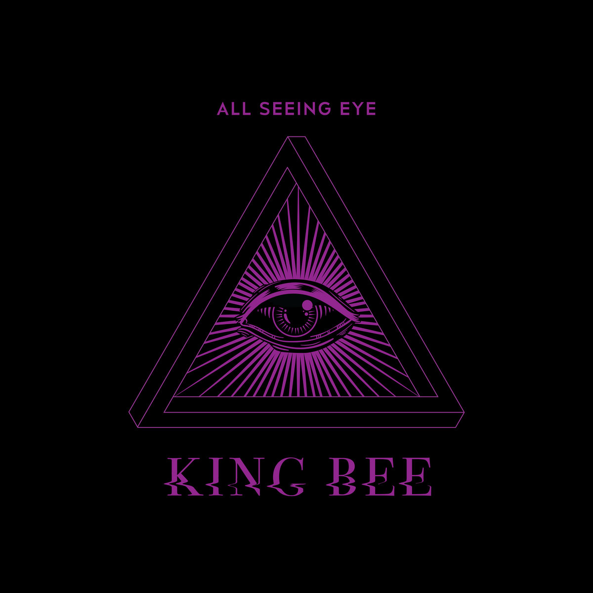 all seeing eye king bee