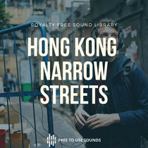 Hong Kong Ambience Spooky Side Street Kitchen Sound Effects cover art