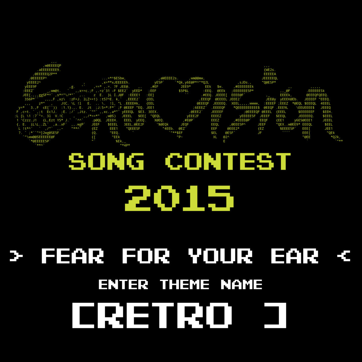 Scratchovision Song Contest 2015 (retro)