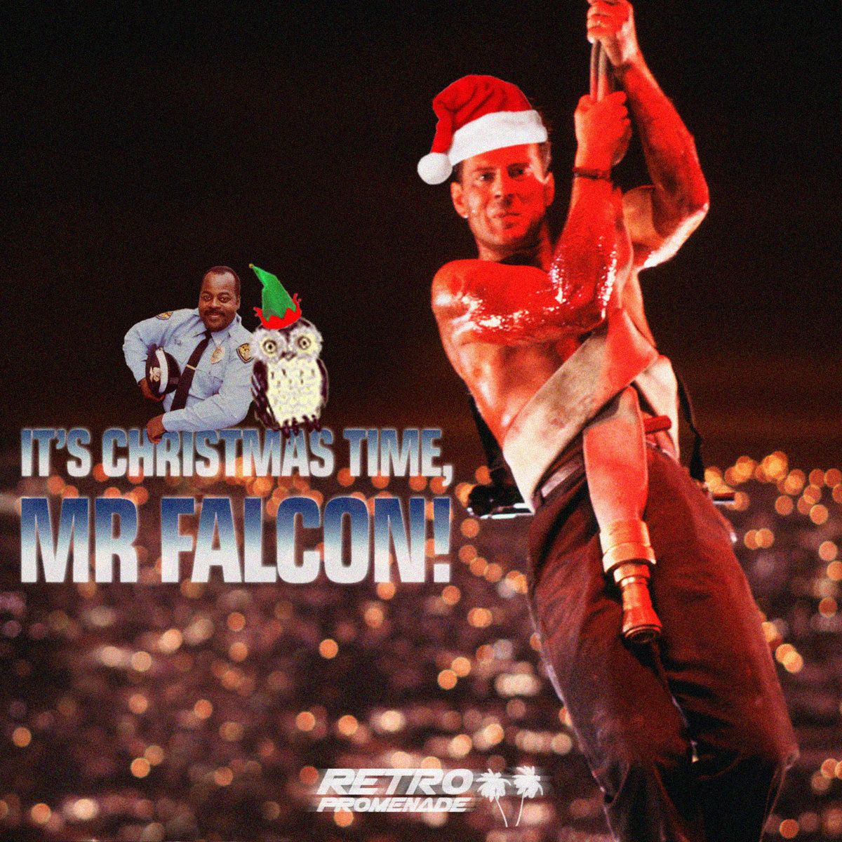 from its christmas time mr falcon by retro promenade - Merry Christmas To Me