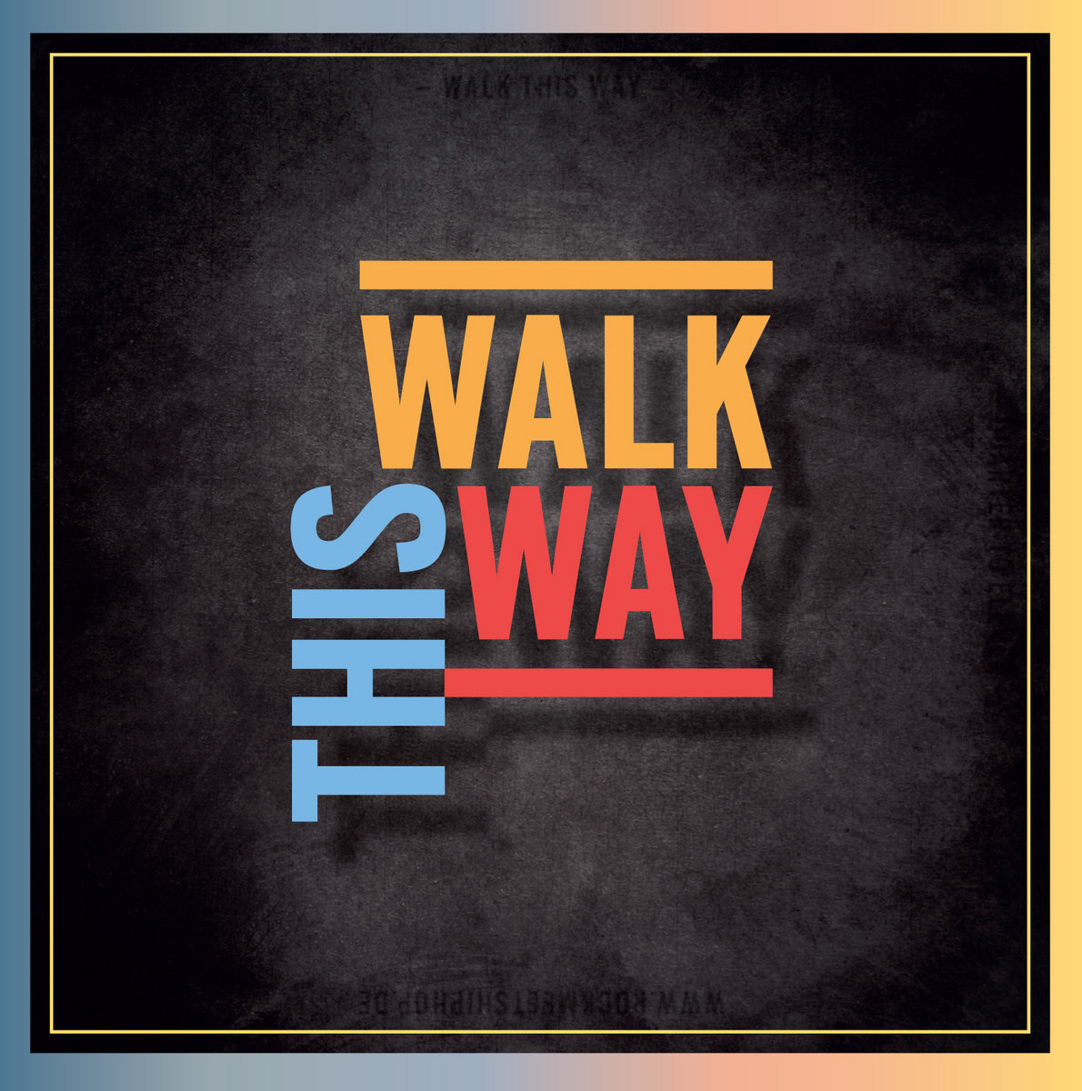 Walk this way images