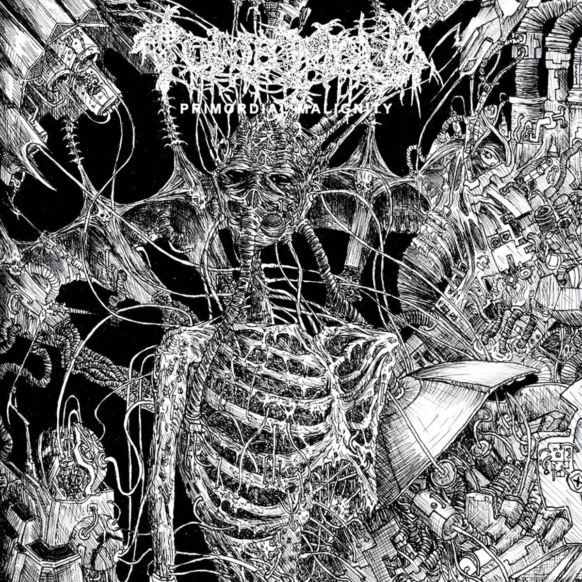 Image result for Tomb Mold - Primordial Malignity