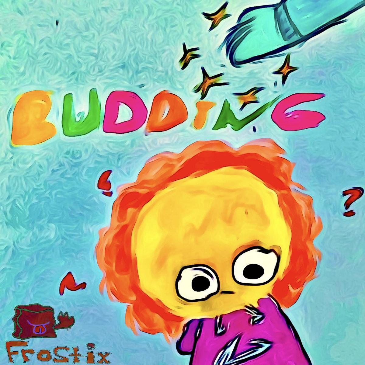 BUDDING. album cover
