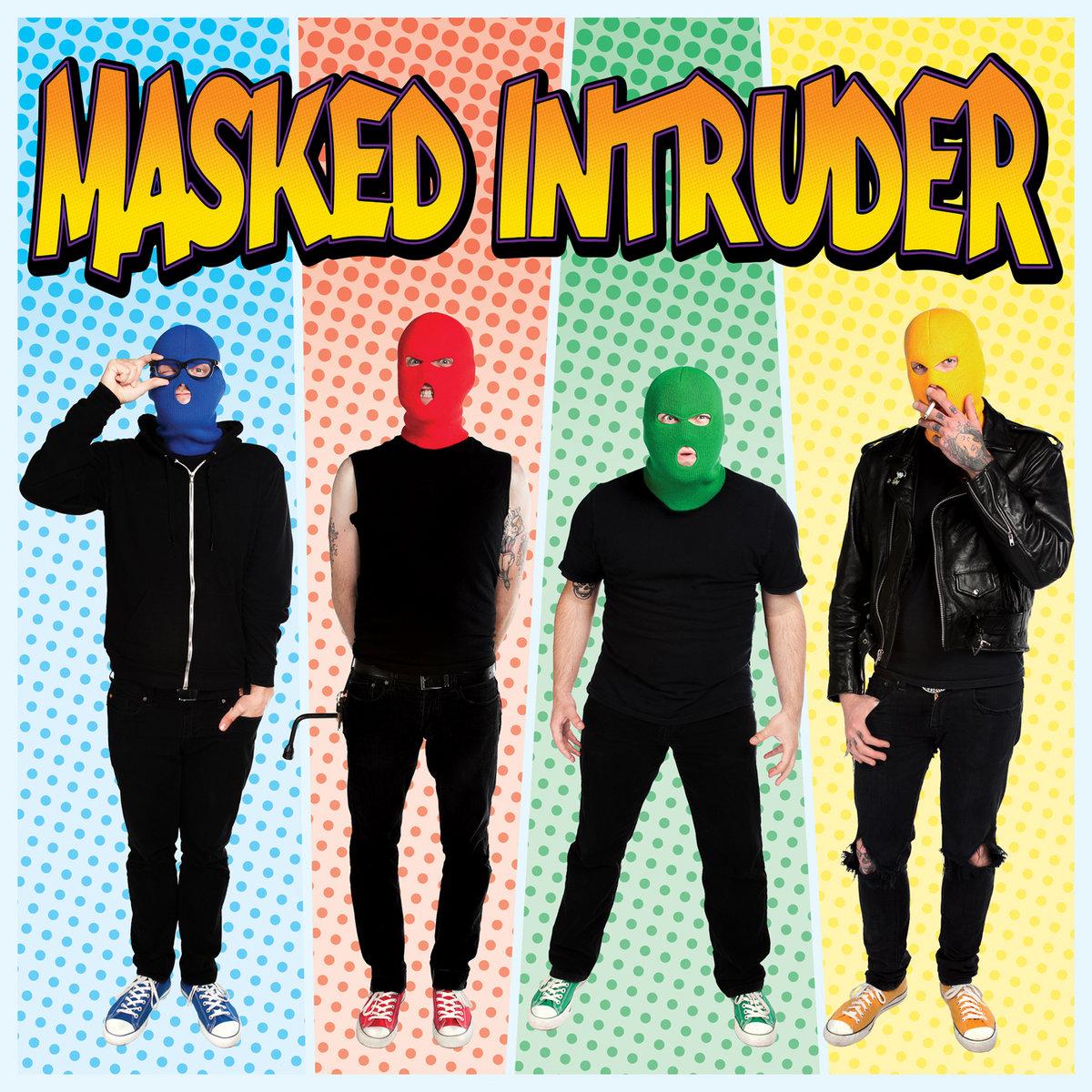 Cover Masked Intruder - Heart Shaped Guitar