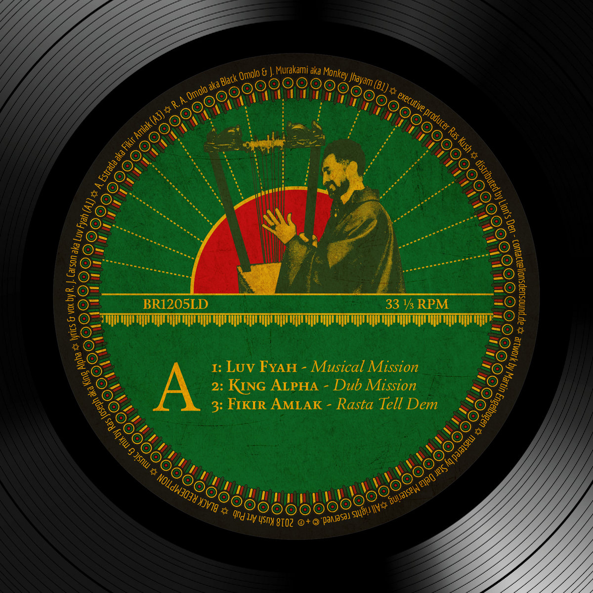 B3 - King Alpha - Rasta Dub Dem  3ac9e9506e5