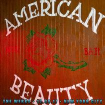 LIVE @ American Beauty - New York, NY 12.30.17 cover art