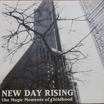 Hourglass / New Day Rising split by Moo Cow Records
