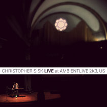 Live at AmbientLive 2k3, US cover art