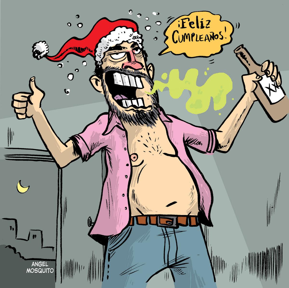 Feliz Navidad Cancion Original.Papa Llego Borracho Fan