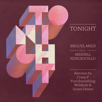 Tonight feat. Meshell Ndegeocello cover art