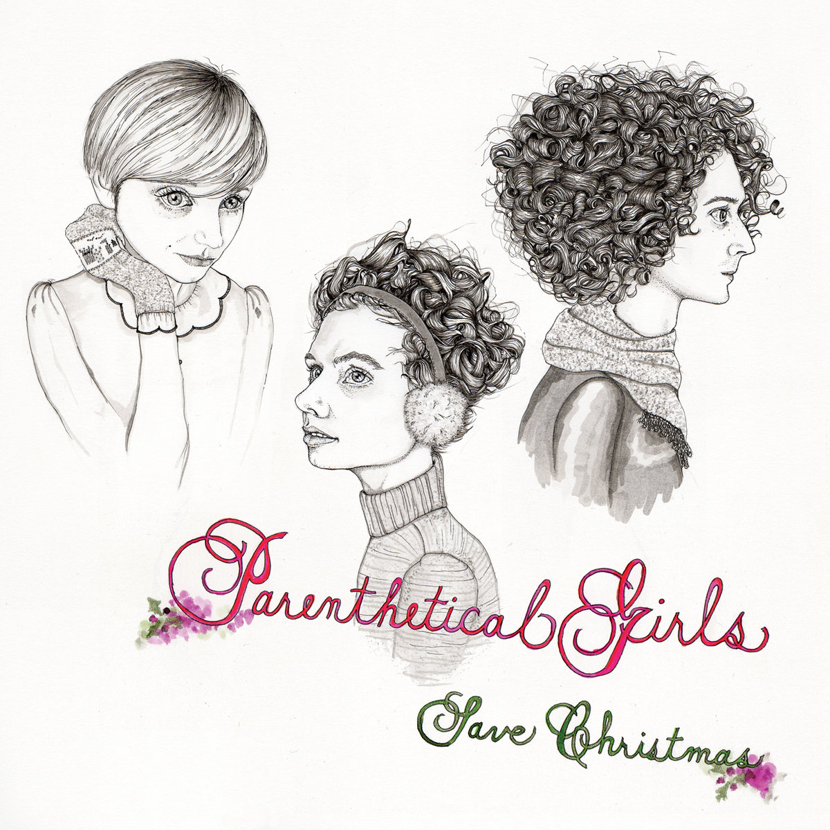 parenthetical girls save christmas parenthetical girls by parenthetical girls