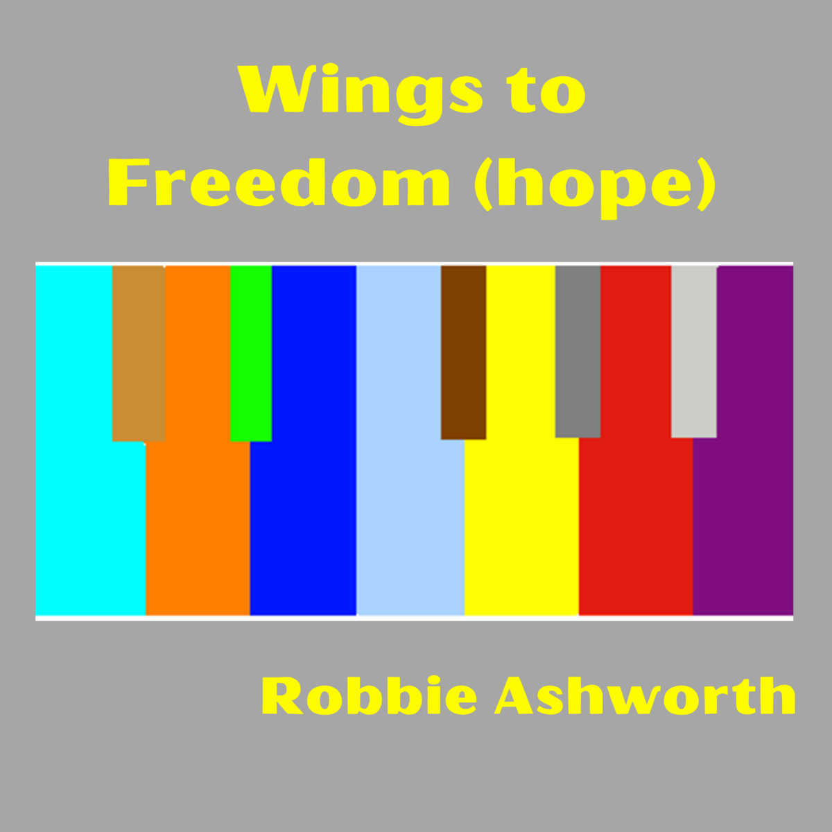 Wings to Freedom (hope) by Robbie Ashworth