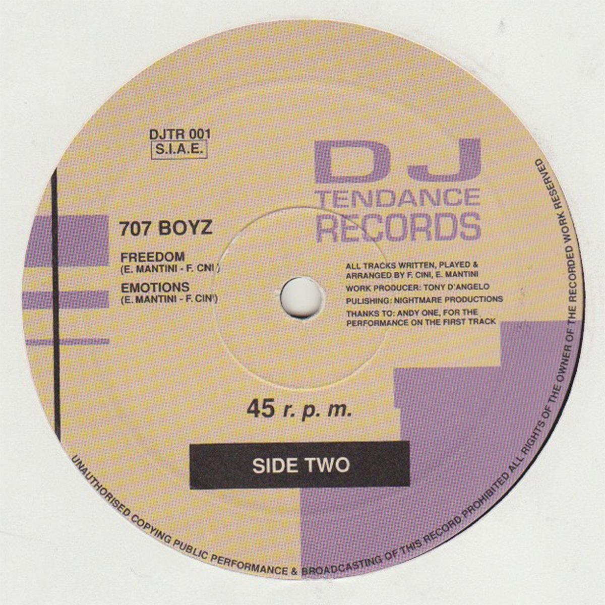 707 Boy EP - DJTR001 | Enrico Mantini