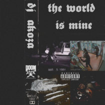 THE WORLD IS MINE cover art