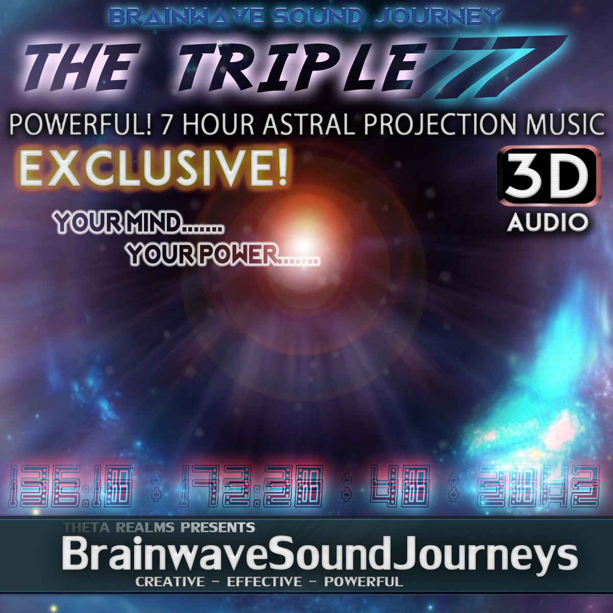 OBE BINAURAL BEATS THAT GO HARD!!! With Powerful Theta Waves + Out