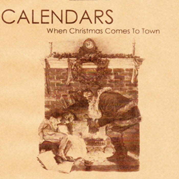 The Polar Express When Christmas Comes To Town.When Christmas Comes To Town The Polar Express Cover
