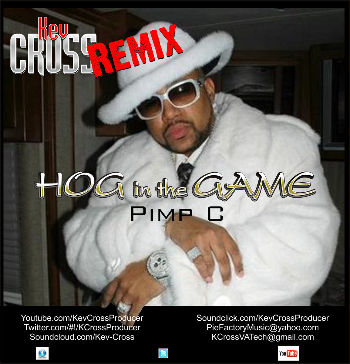 Hog In The Game - Pimp C (Kev Cross Remix) | The Last Eighth