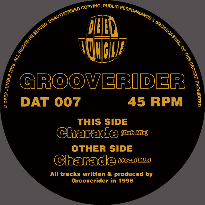 Rawstyles collection bandcamp dat 007 grooverider charade vocal mix dub mix gift given m4hsunfo