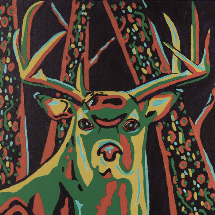 Deer Friends, cover art