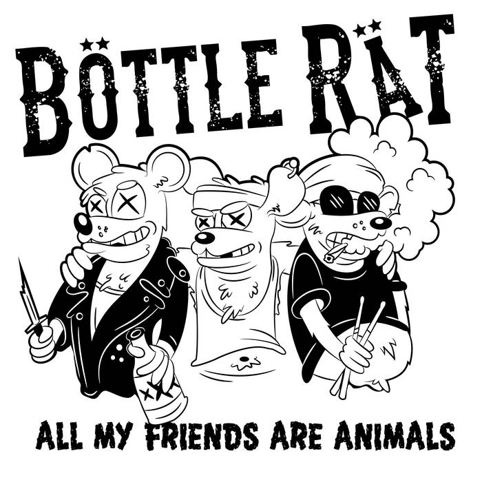 All My Friends Are Animals! cover art