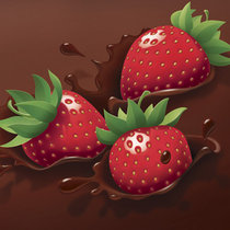 Strawberries And Chocolate cover art