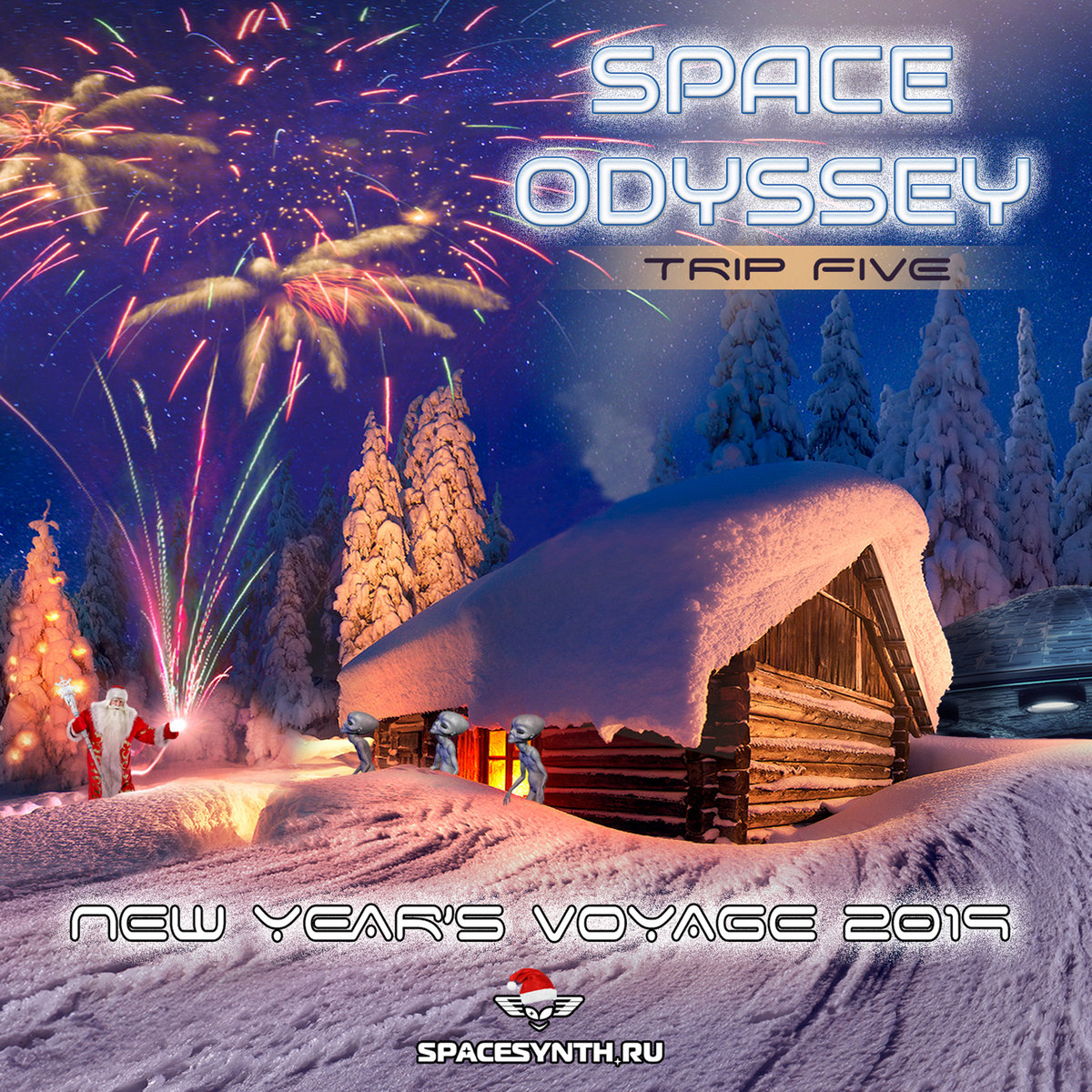 5b3b0d6c95 Space Odyssey – Trip Five: New Year's Voyage 2019 | Spacesynth.ru