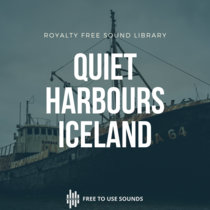 Harbour Sounds Quiet Ambience Iceland cover art
