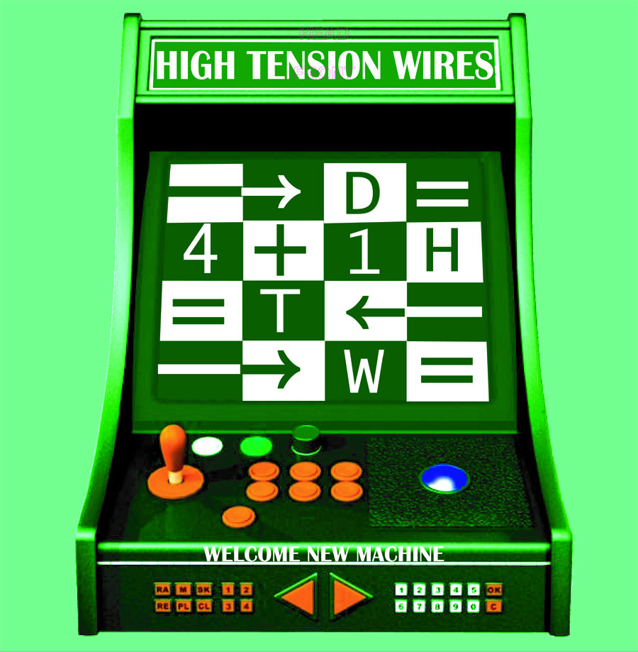 High Tension Wires - Welcome New Machine | Dirtnap Records