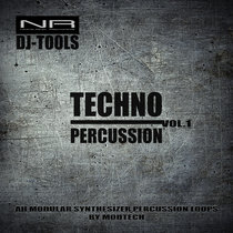 DJ-tools Techno percussion vol.1 cover art