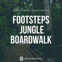 Footsteps Sounds Jungle Boardwalk, Mud & Gravel La Réunion cover art